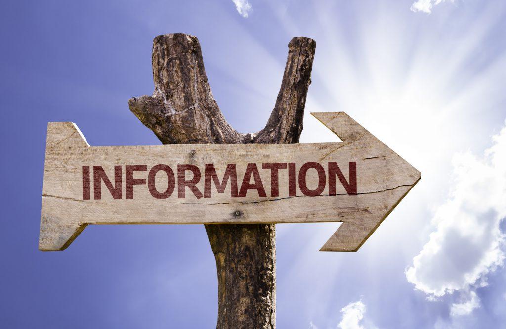 A la recherche de l'information !